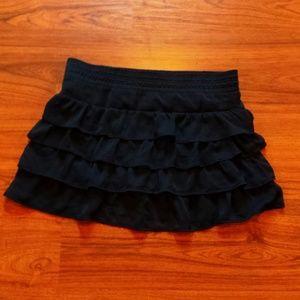 Skirt mini black juniors large